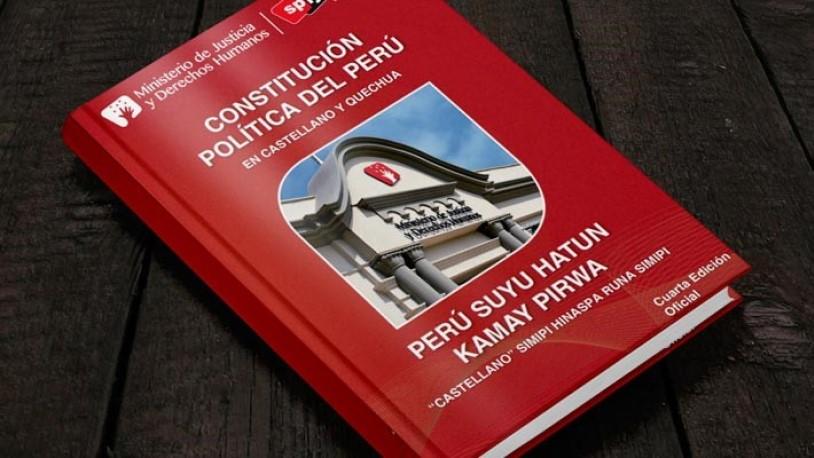 Descargar constitución política del Perú en PDF y word
